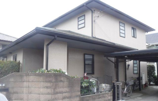 埼玉県春日部市 白石様邸 外壁塗装