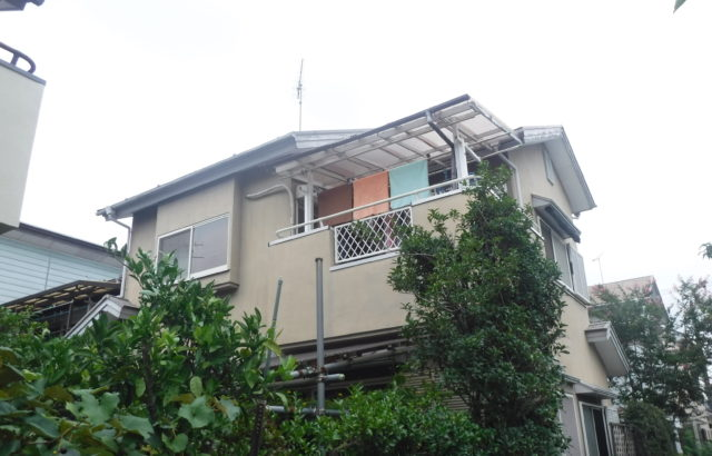 埼玉県加須市 屋根塗装 外壁塗装 破風板金 樋交換