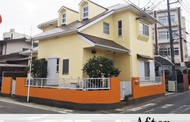 埼玉県鴻巣市 外壁塗装 屋根塗装 カーポート交換 破風板金巻 樋交換