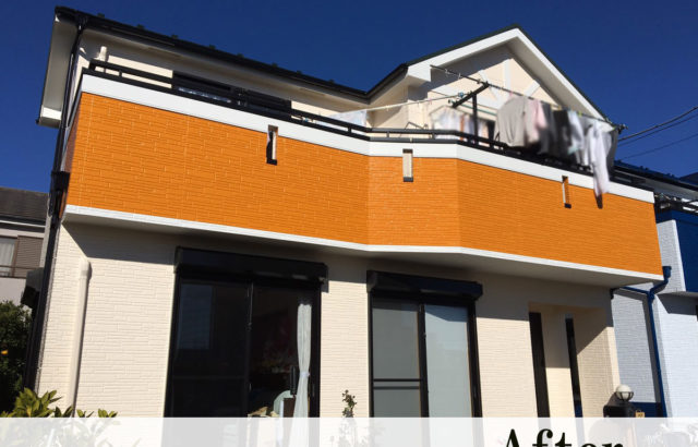埼玉県さいたま市岩槻区 H様邸 屋根塗装 外壁塗装