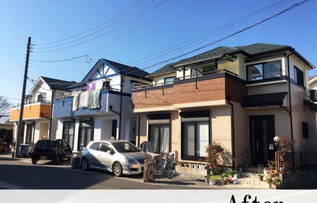 さいたま市 Y様・H様・S様邸 屋根塗装 外壁塗装 コーキング打ち替え
