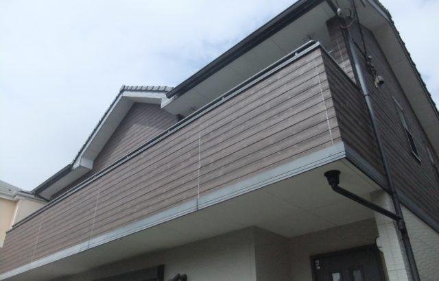 埼玉県上尾市 高田様邸 屋根塗装 ・外壁塗装