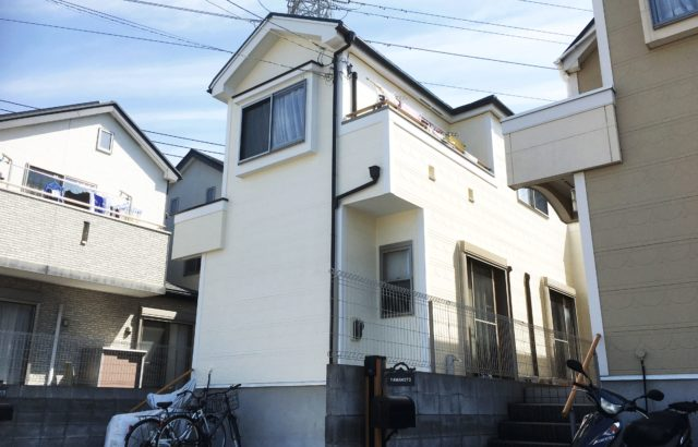 埼玉県蓮田市 S様邸 屋根カバー工法 ・外壁塗装