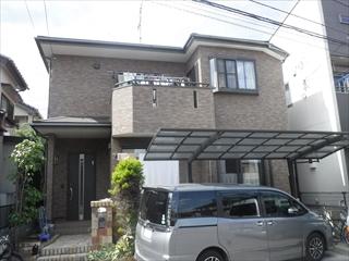埼玉県上尾市 H様邸 屋根塗装・外壁塗装