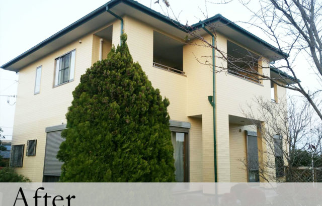 埼玉県羽生市 Y様邸 屋根塗装 外壁塗装