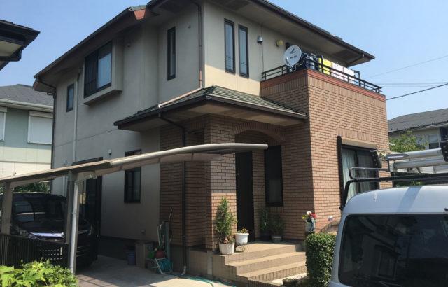 埼玉県久喜市 新井様邸 外壁塗装