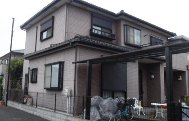 埼玉県春日部市 W様邸 屋根塗装・外壁塗装