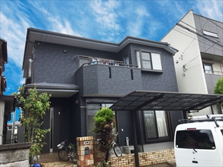 埼玉県上尾市 H様邸 屋根塗装 外壁塗装