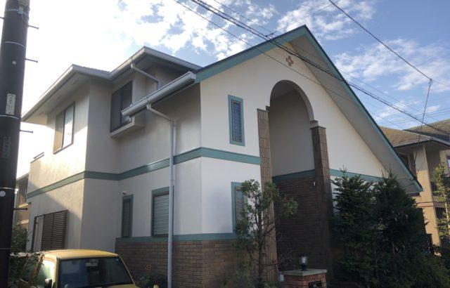 外壁塗装、屋根カバー工事 無機塗料 コーキング工事 埼玉県春日部市