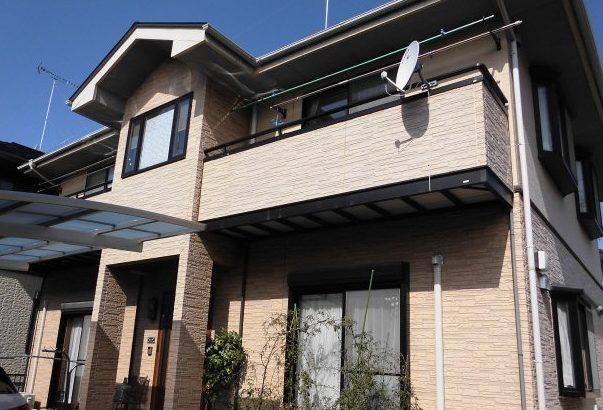 外壁塗装 屋根塗装 埼玉県さいたま市浦和区 N様邸 日本ペイント ピュアライドUVプロテクト