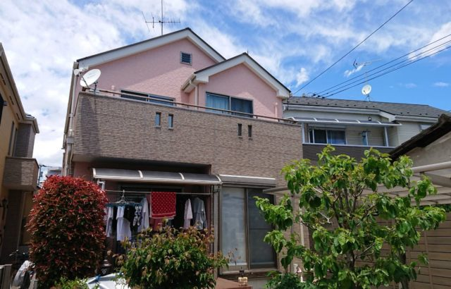 埼玉県上尾市 外壁塗装 屋根塗装 コーキング工事