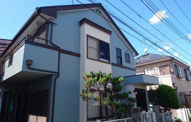 埼玉県春日部市 外壁塗装 屋根塗装 付帯部塗装 コーキング工事