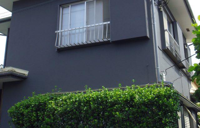 埼玉県白岡市 外壁塗装 コーキング工事 付帯部ケレン作業 付帯部塗装