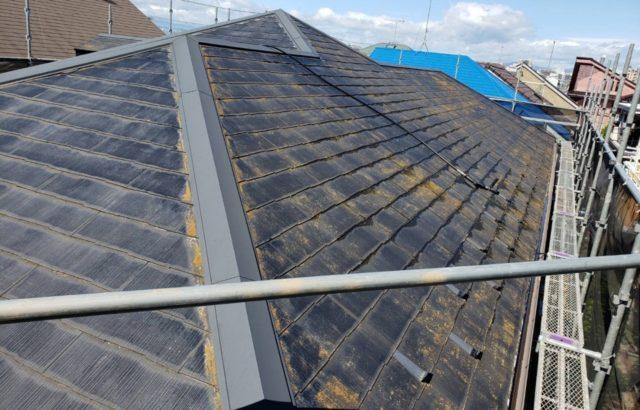 埼玉県さいたま市 棟板金交換 屋根塗装