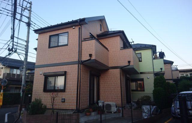 埼玉県白岡市 外壁塗装 屋根塗装 シーリング工事