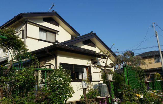 埼玉県八潮市 外壁塗装 色選び 画像 カラーシミュレーター