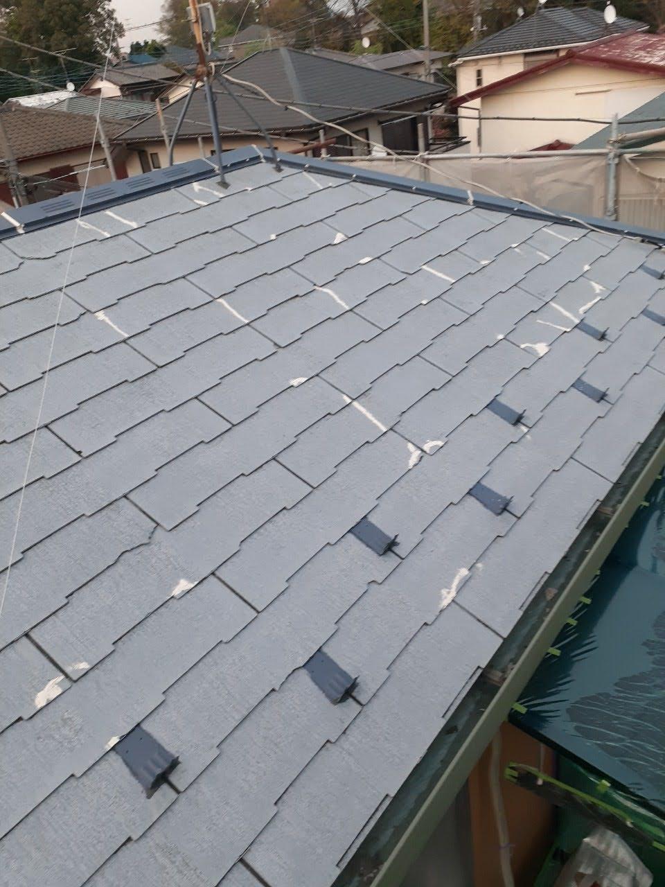 補修後の屋根の画像