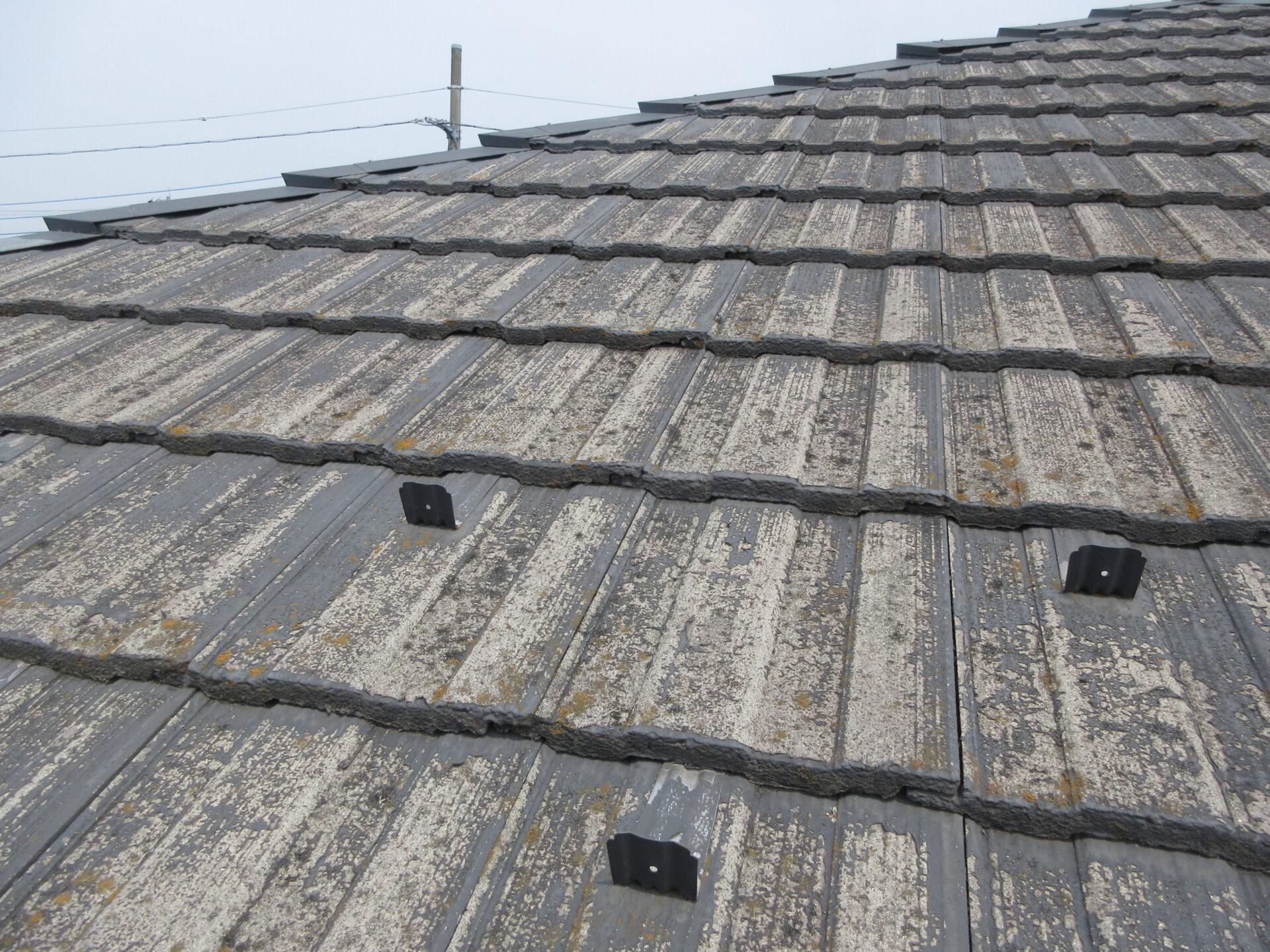 塗装施工前の屋根の画像