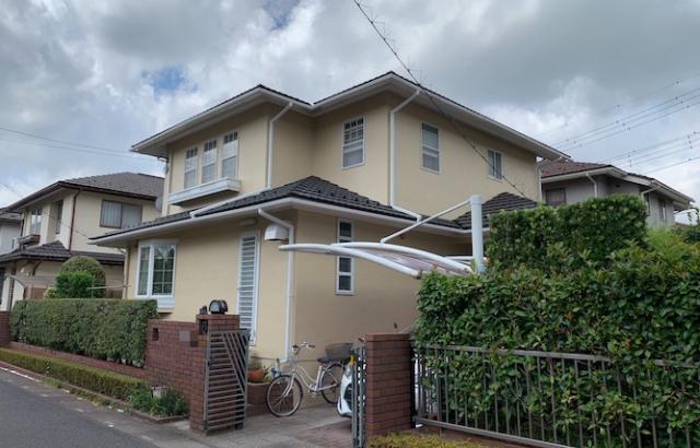 埼玉県白岡市 屋根塗装 外壁塗装 付帯塗装