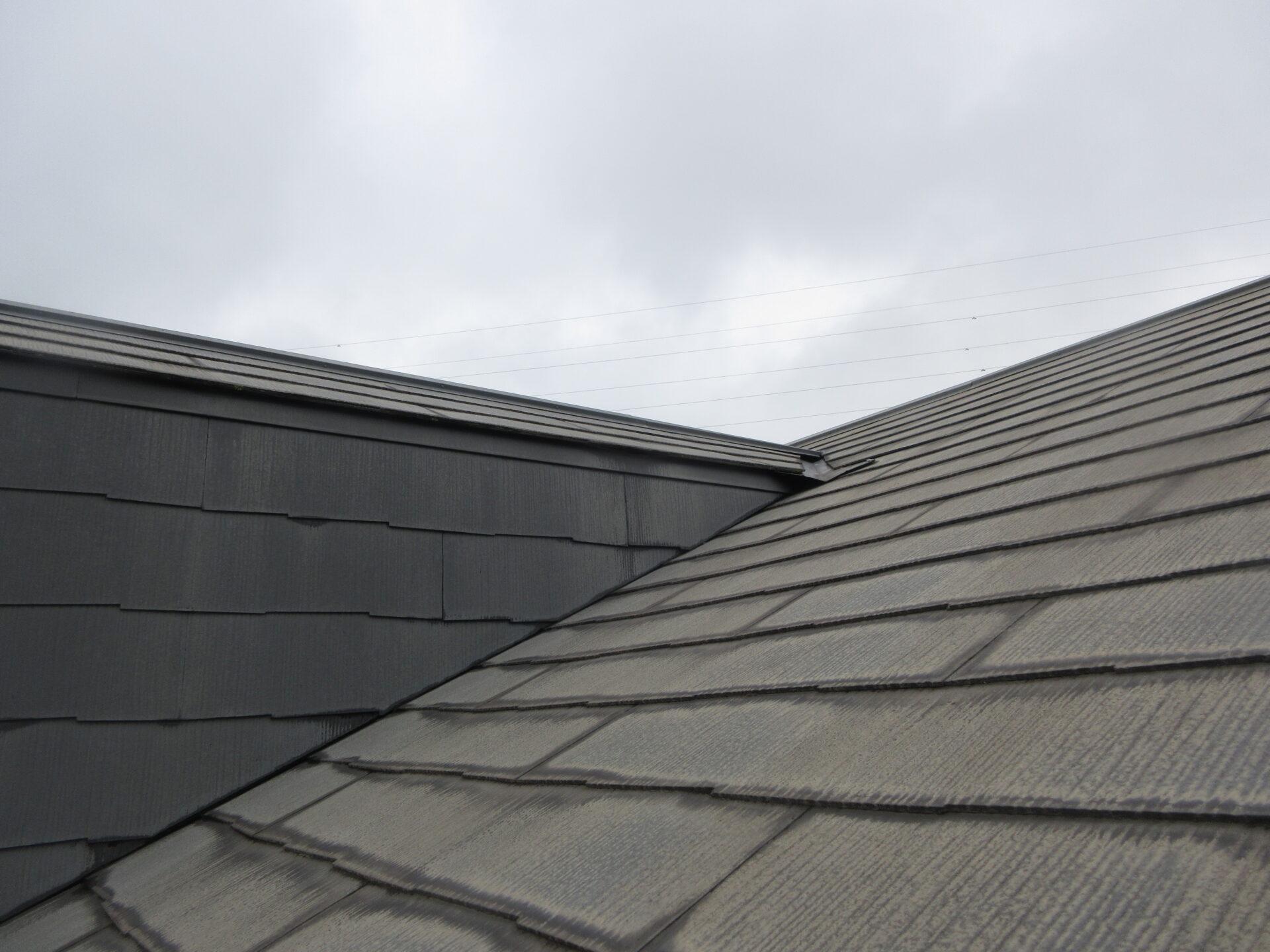 屋根施工前の画像