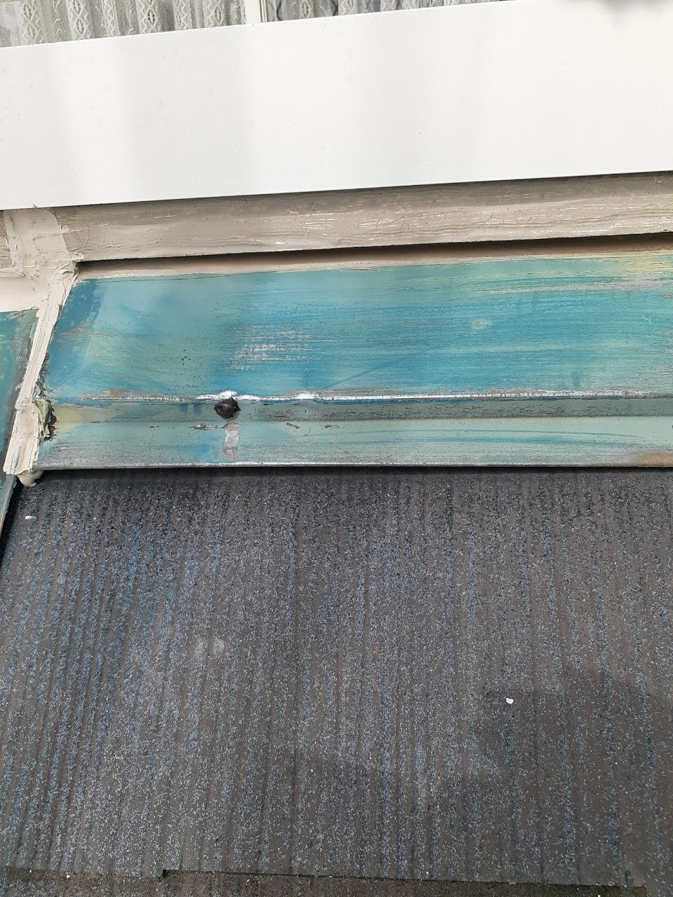 屋根板金下地処理の画像