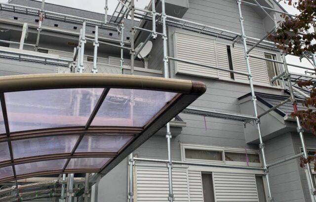 埼玉県鴻巣市 S様邸 屋根塗装 外壁塗装 付帯部塗装 ベランダ防水塗装