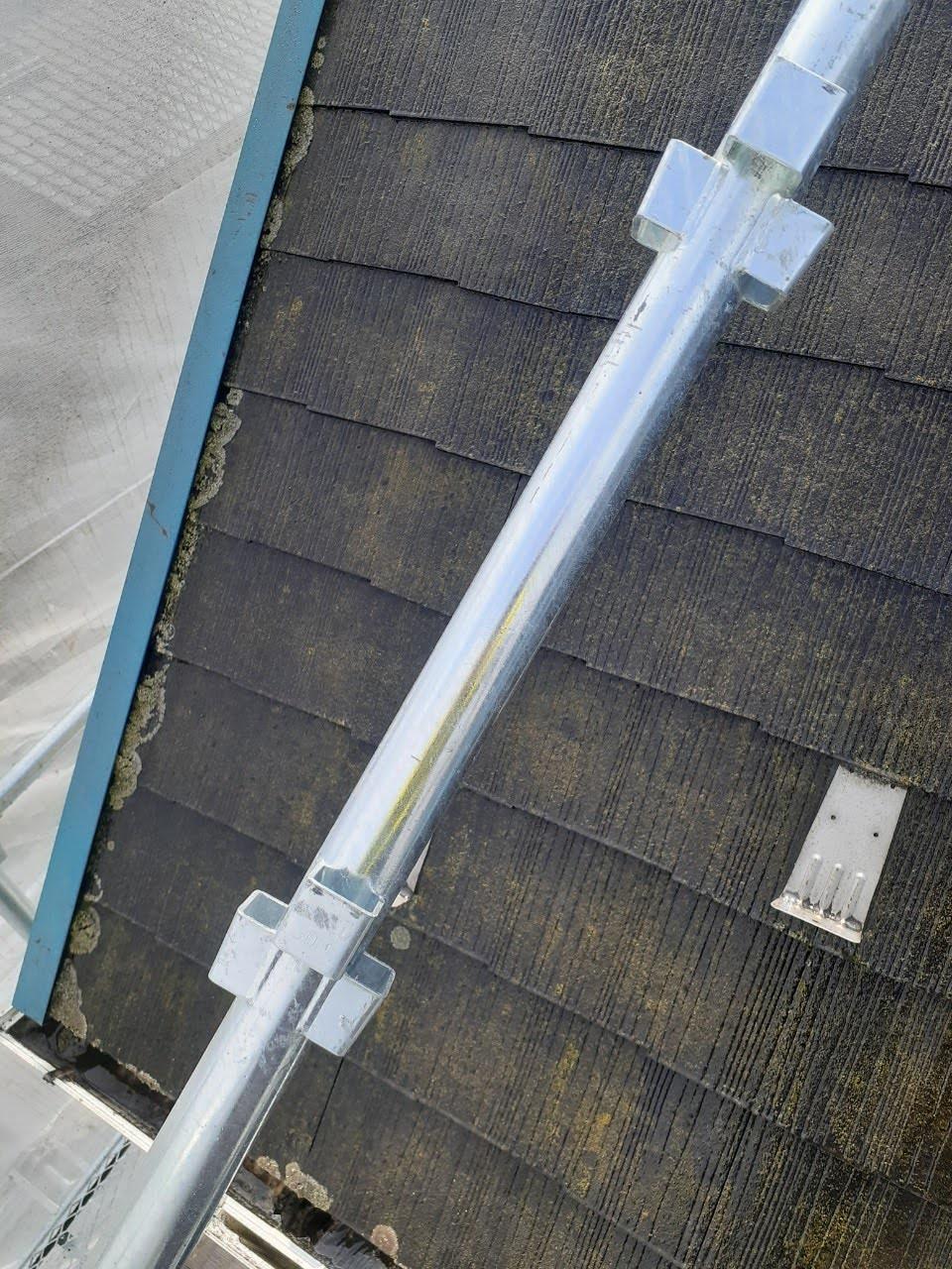 施工前の屋根の画像